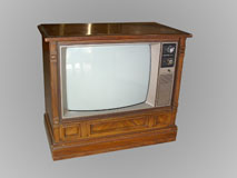 GE 25″ Console Television