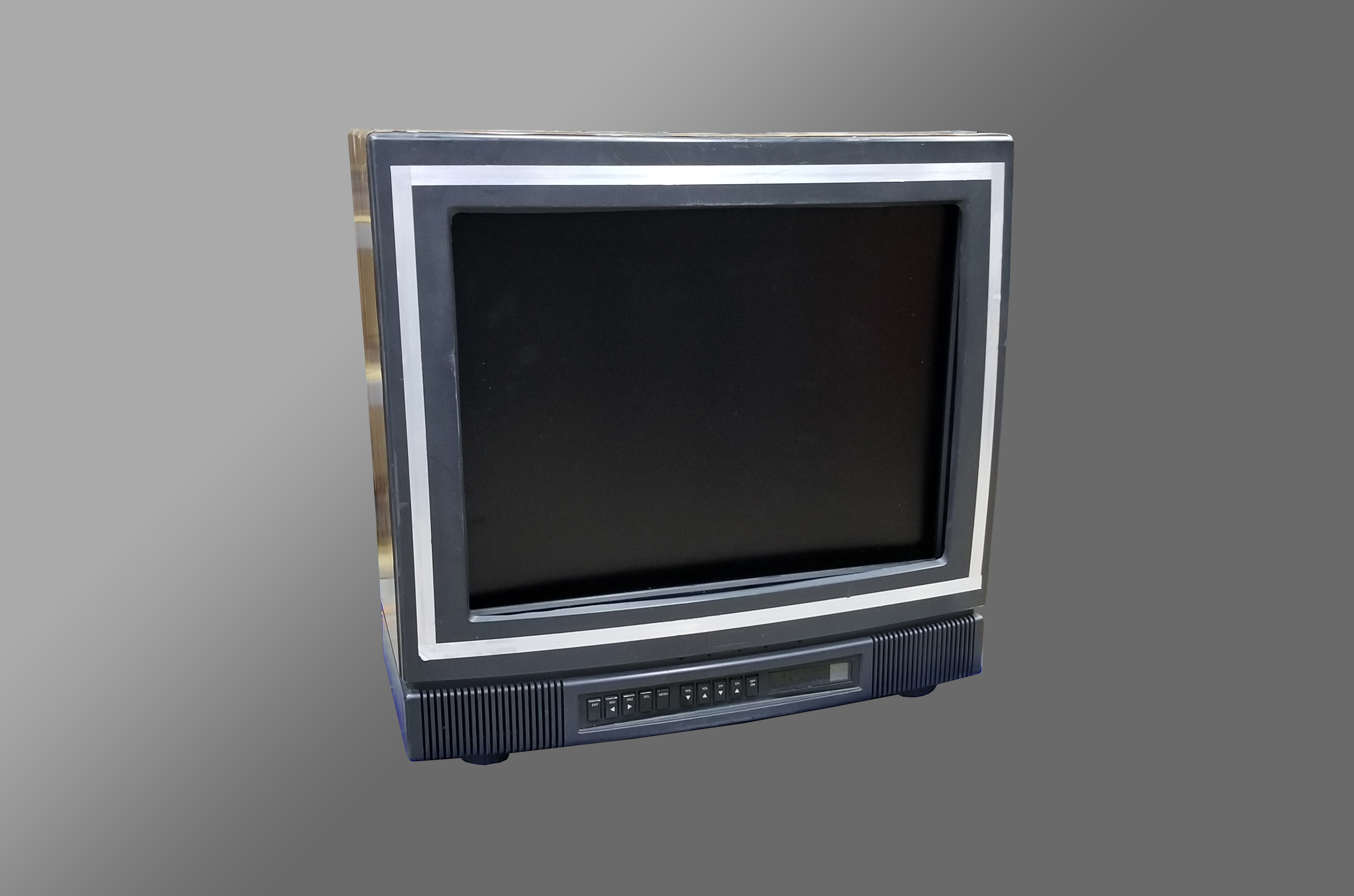 20″ LCD Rigged 80's #1 TV