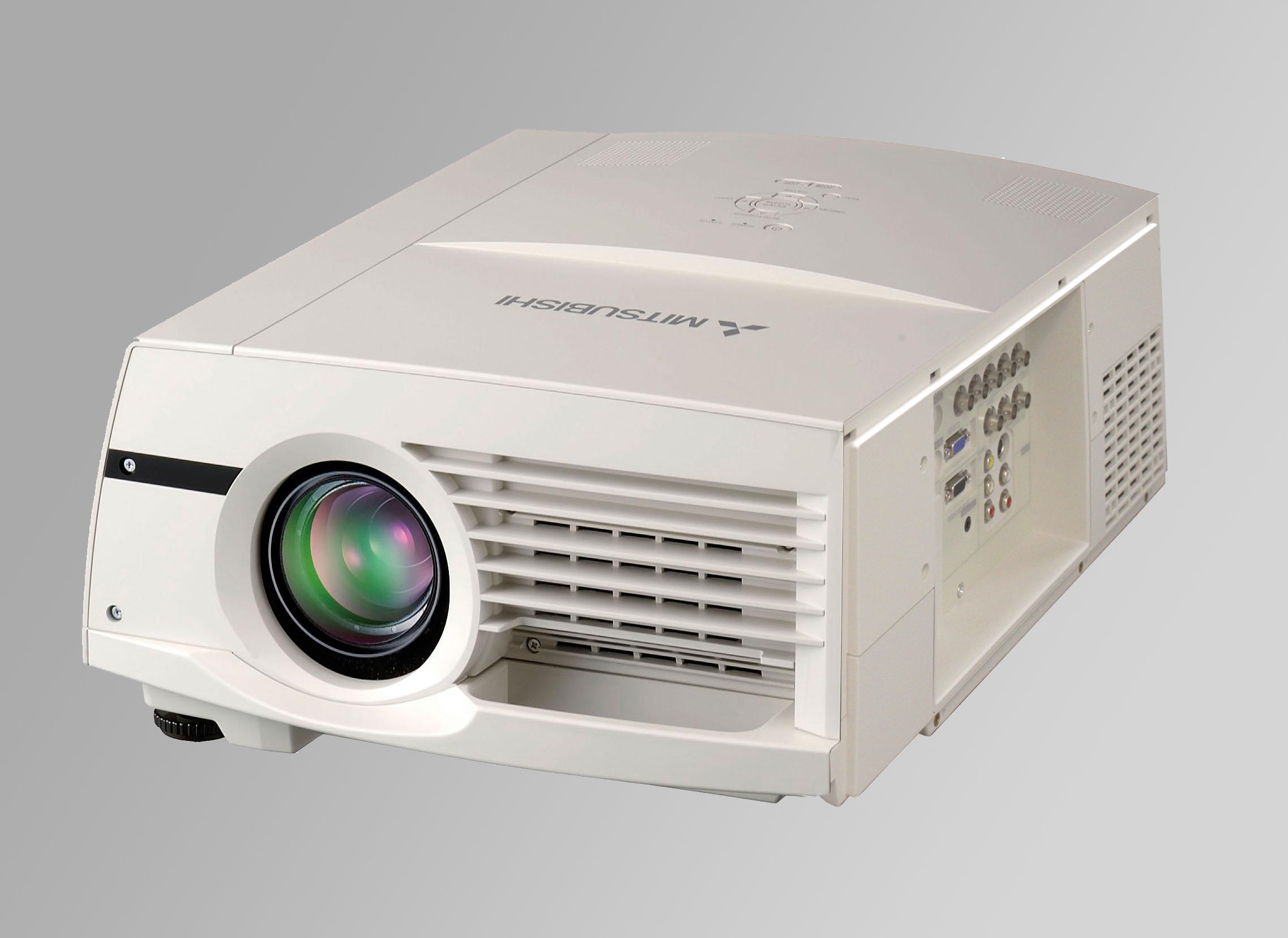 mitsubishi fl7000u projector inter video production equipment rentals rh intervideo co Mitsubishi Projector 110 SD Mitsubishi M1ky LCD Projector