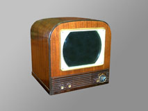 Philco 50T 12″ LCD Rigged