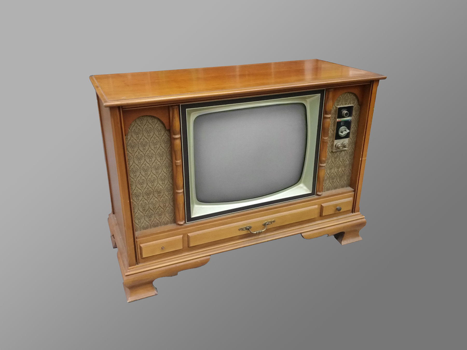 Montgomery Wards GHJ 23″ Console Television